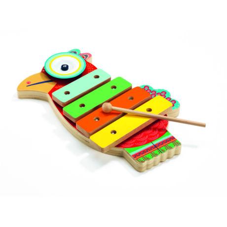 Játékhangszer - Cintányér és xilofon - Cymbal and xylophone- DJECO