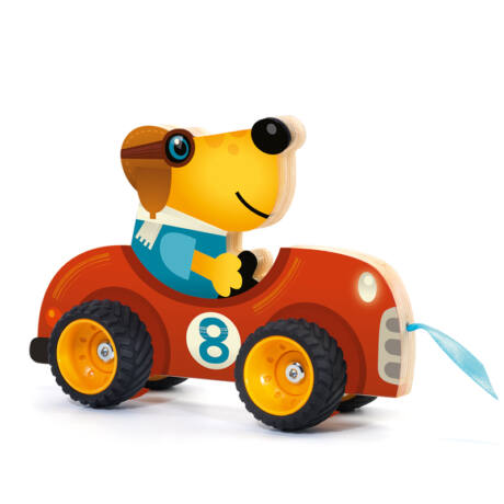 Húzható játék - Terreno car- DJECO
