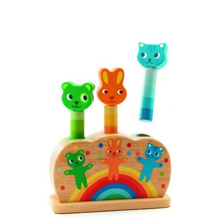 Felfedező játék - Hipp-hupp - Pipop pidoo- DJECO
