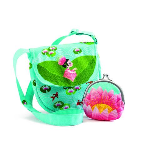 Kistáska pénztárcával - Vízi Lily - Miss waterlily bag and purse- DJECO