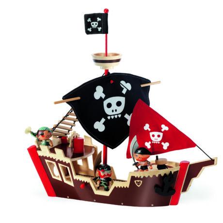 Kalózhajó - Ze pirat boat- DJECO