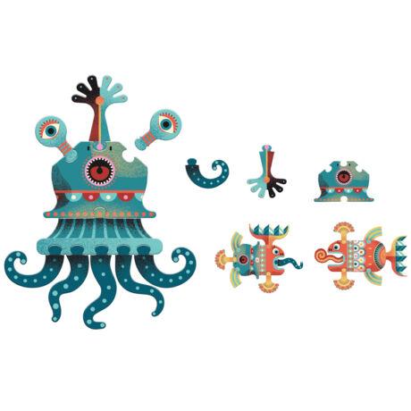 Óriás puzzle - Aqua'zules- DJECO