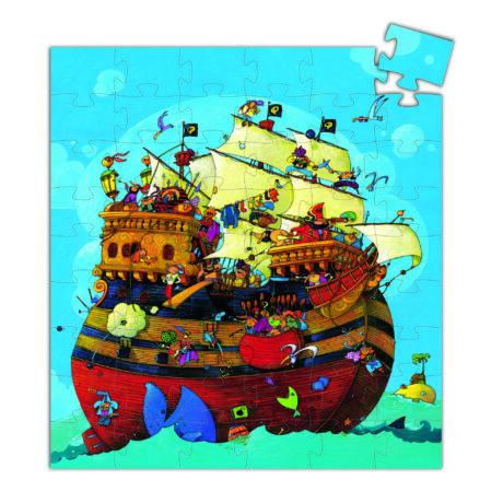 Formadobozos puzzle - Barbarossa hajója - Barbarossa's Boat- DJECO
