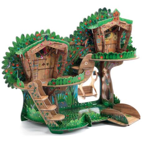 Építőjáték - Lombház - The tree house- DJECO