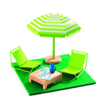 A kerti bútor - The terrace- DJECO