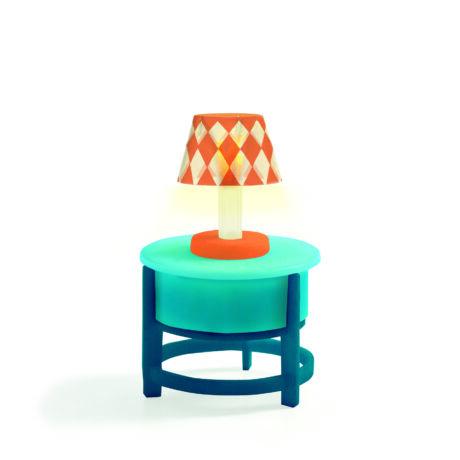 Asztalka lámpával - Light on the table- DJECO