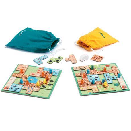 Társasjáték - Csodállatkert - WonderZoo- DJECO