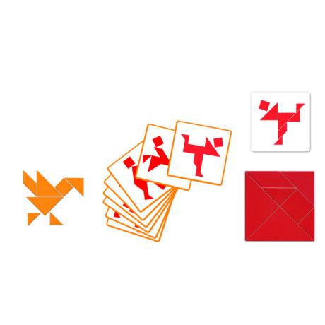 Logikai játék - Tangram- DJECO