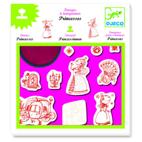 Nyomdakészlet - Hercegnők - Princesses- DJECO