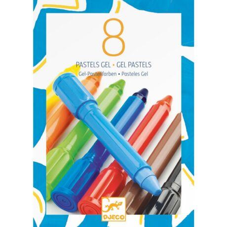 Géllpasztell - 8 klasszikus színben - classic colours- DJECO