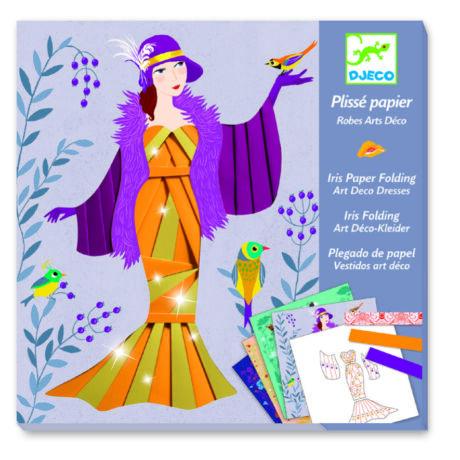 Írisz papírhajtogatás - Art deco ruhák - Art deco dresses- DJECO