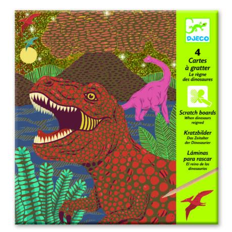 Karckép technika - Dinoszauruszok - Dinosaurs- DJECO