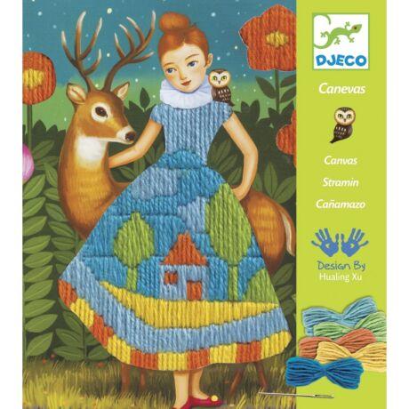 Himzés - Drop stitch, Dress- DJECO