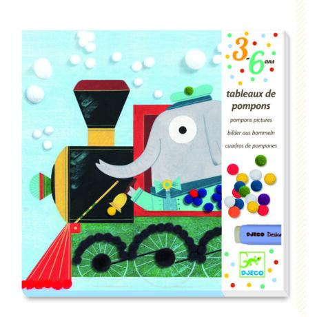 Pompom képkészítő - Pompomok a fedélzetre! - Pompom All aboard- DJECO
