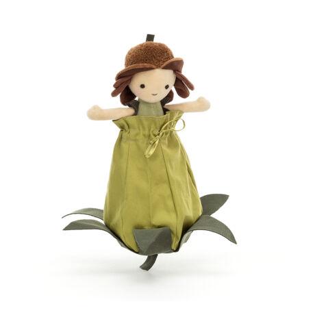 Jellycat Petalkin Doll Acorn - Makkocska tündér
