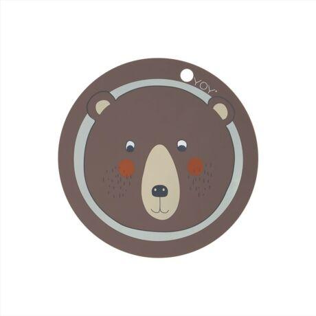 Szilikon alátét - Maci - OYOY Mini
