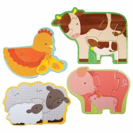 Petit Collage kezdő puzzle – farm