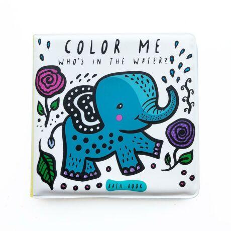 Wee Gallery színváltós fürdős könyv - Kik vannak a vízben?