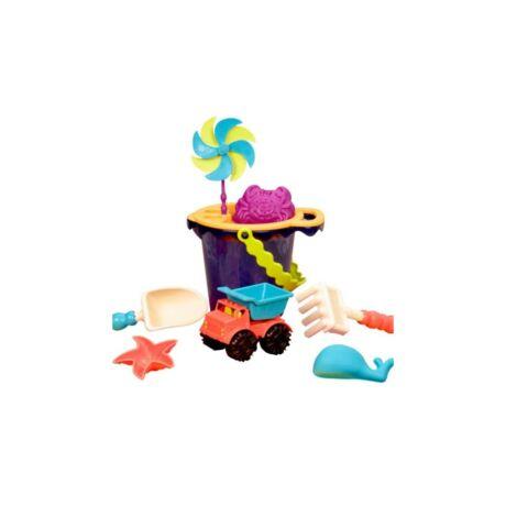 B.Toys Homokozó szett - vödörrel (Navy)