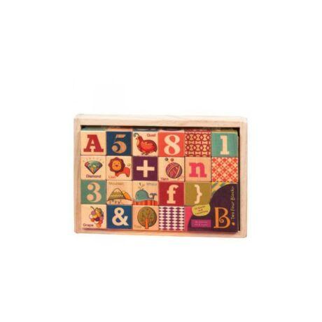 B.Toys 24db-os építőkocka dobozban