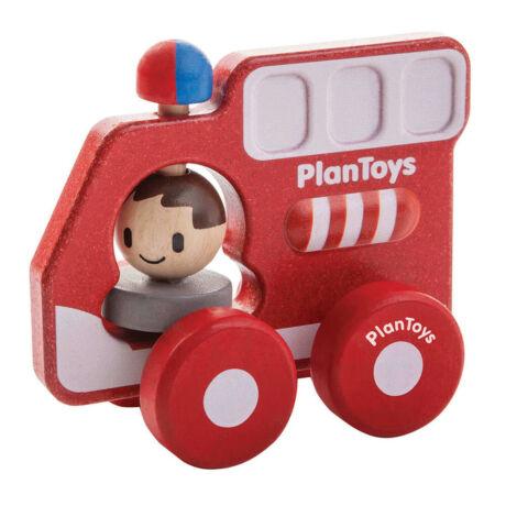 Tűzoltóautó Plan Toys