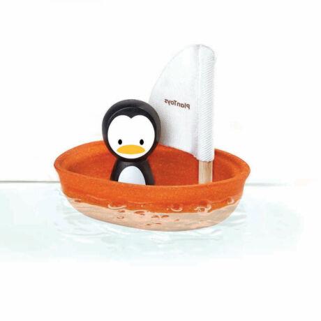 Vitorlás csónak - Pingvin Plan Toys