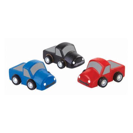 Mini teherautók Plan Toys