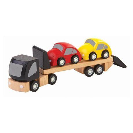 Autószállító Plan Toys