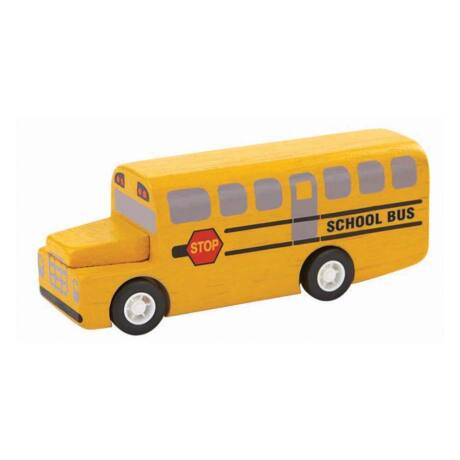 Iskola busz Plan Toys