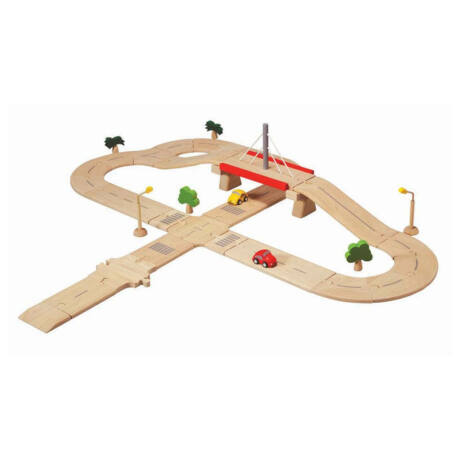 Úthálózat - deluxe Plan Toys