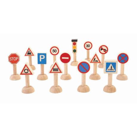 Útjelző táblák Plan Toys
