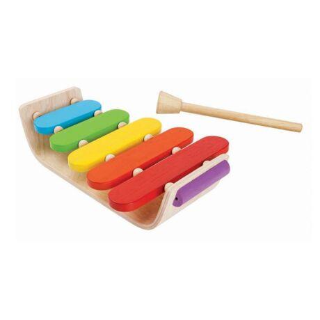Xylofon - ovális Plan Toys