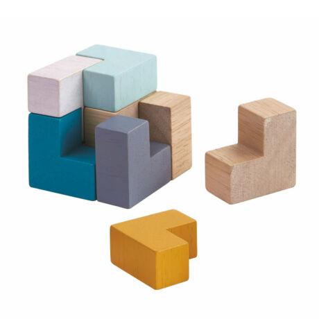 3D kocka puzzle Plan Toys