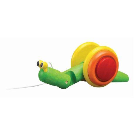 Húzható csiga Plan Toys