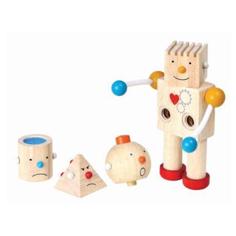 Robot építő Plan Toys