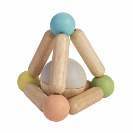 Fejlesztő háromszög - pasztell Plan Toys