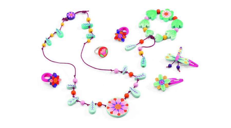 8a74c10bf4fd Ékszerkészlet - Csodálatos virágok - Flower paradise jewels- DJECO Katt rá  a felnagyításhoz